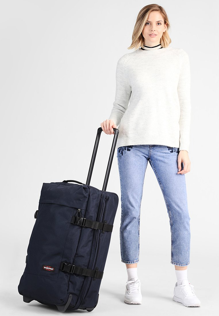 Eastpak - TRANVERZ M - Wheeled suitcase - cloud navy