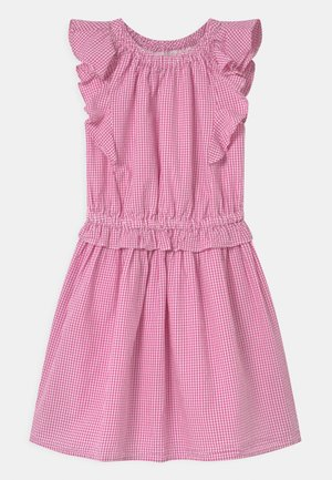 Day dress - pink/white