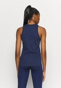 Nike Performance - DRY TANK  YOGA - Funktionsshirt - midnight navy - 2