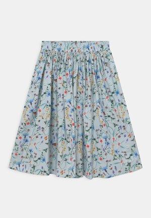 BREE - Áčková sukně - light blue