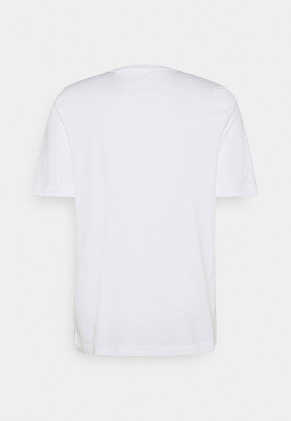 Reebok Classic SOUVENIR TEE - T-shirt z nadrukiem - white/biały Odzież Męska XFLH