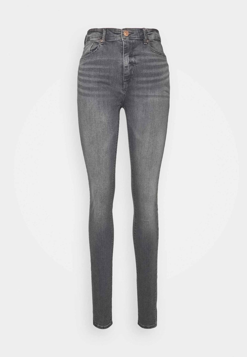 ONLY Tall - ONLPAOLA LIFE - Jeans Skinny Fit - grey denim