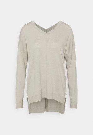 Jersey de punto - mole grey