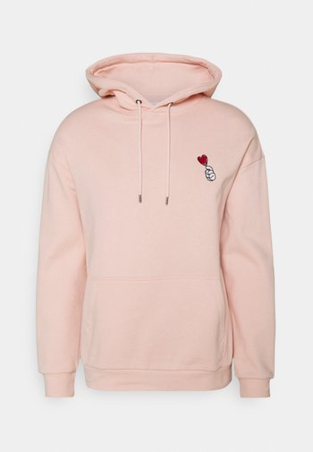 UNISEX - Felpa con cappuccio - pink