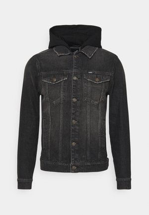 TREY JACKET - Veste en jean - black