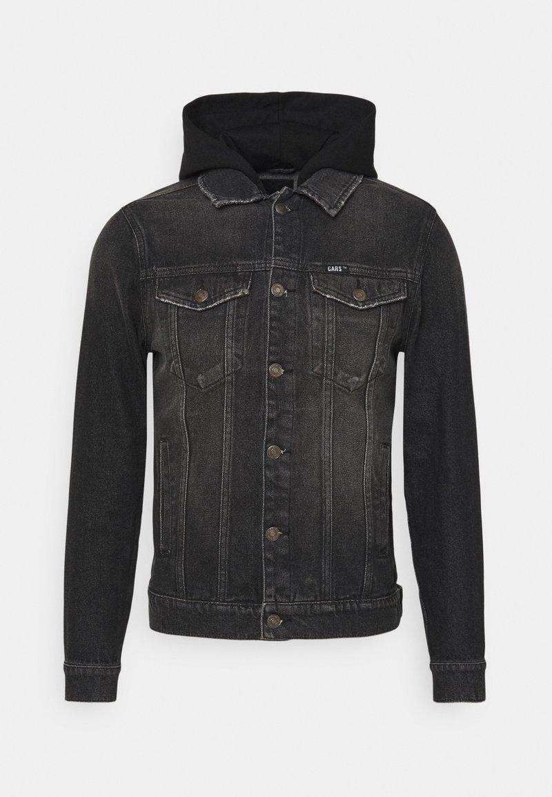 Cars Jeans - TREY JACKET - Farkkutakki - black