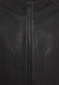 HUGO - LONOS - Kožená bunda - black - 7