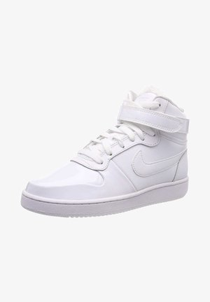 High-top trainers - whitewhiteblack