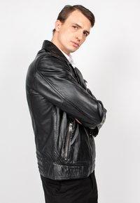 Freaky Nation - BLACK SELECT - Leather jacket - black - 5