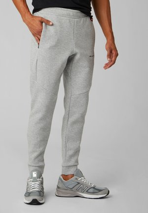 Tracksuit bottoms - athletic grey