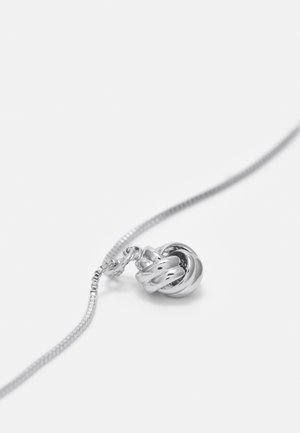 KNOT SMALL PENDANT - Necklace - silver-coloured