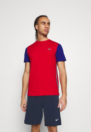 TENNIS - Print T-shirt - red/cosmic