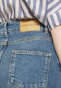 Carin Wester - SKIRT HOUSTON - Denimová sukně - denim blue - 3