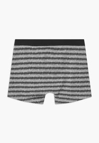Schiesser - TEENS 2 PACK - Pants - black/grey - 2