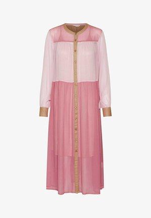 HUYENPW DR - Shirt dress - pink colourblock
