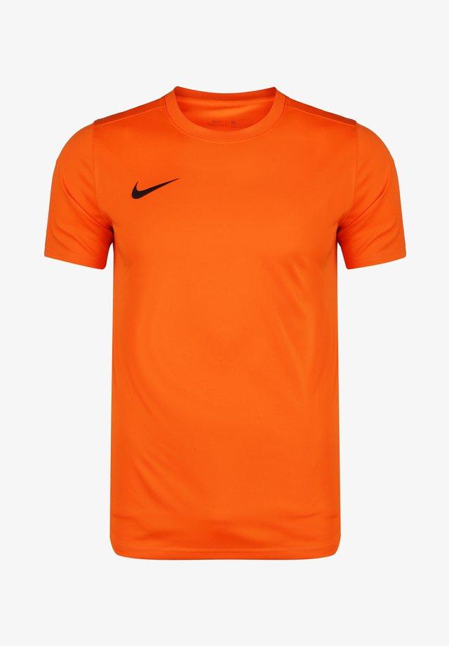 DRI-FIT PARK - T-shirt basique - safety orange / black