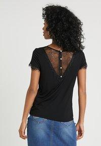 Morgan - DMINOL - Print T-shirt - noir - 2