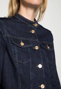 Mos Mosh - RAVEN  JACKET - Denim jacket - dark blue - 4