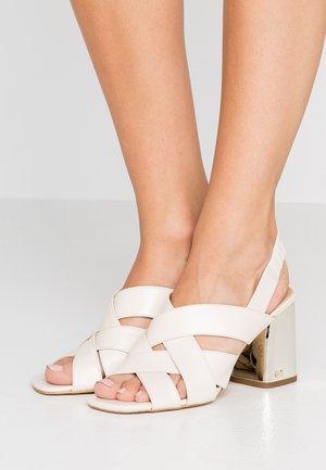 DIXON - Sandals - light cream