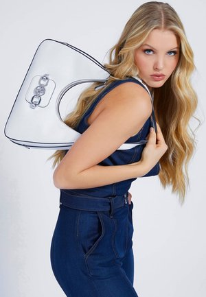 HOBO HENSELY - Handbag - weiß