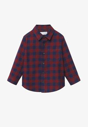 GERUIT  - Overhemd - donkerrood