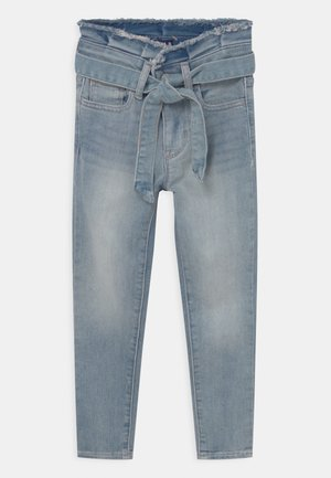 GIRL JEG TIE WAIST - Skinny džíny - medium wash