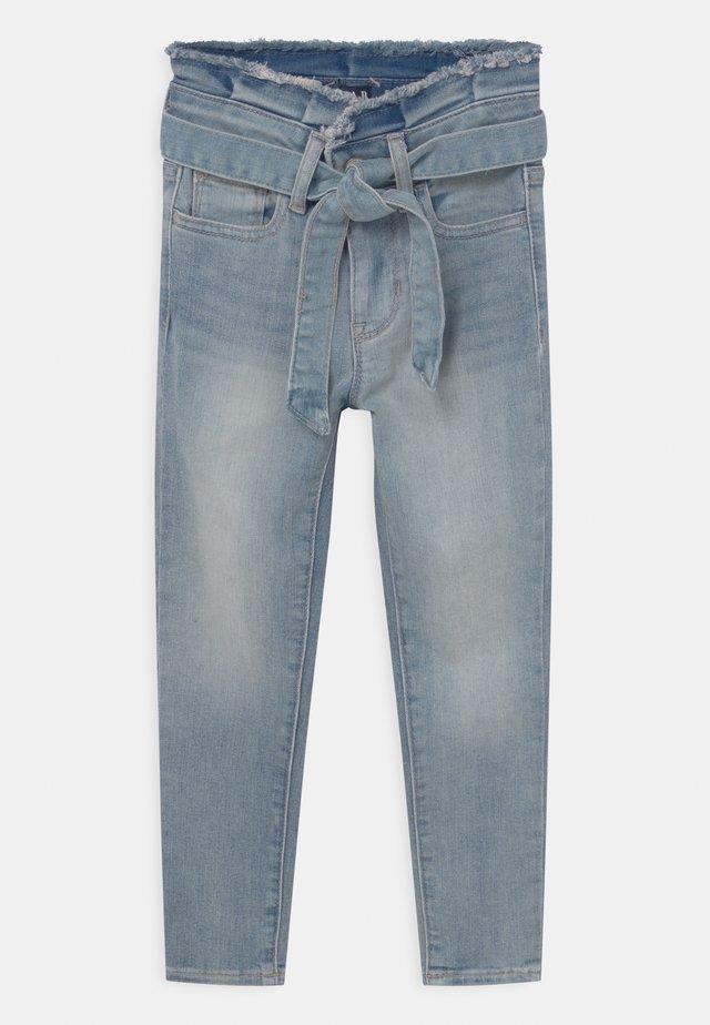GIRL JEG TIE WAIST - Jeans Skinny Fit - medium wash