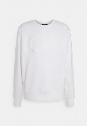 OVERSIZED CREWNECK - Sweatshirt - white