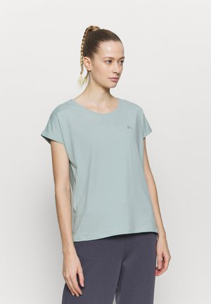 ONPAUBREE TRAINING TEE - T-shirt basic - gray mist