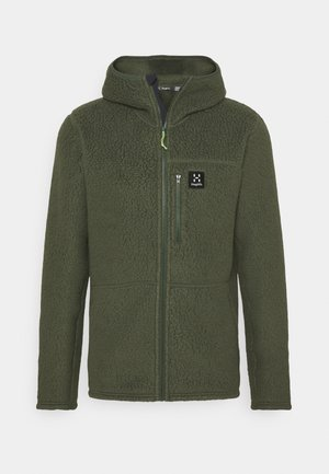 HOOD MEN - Fleece jacket - fjell green