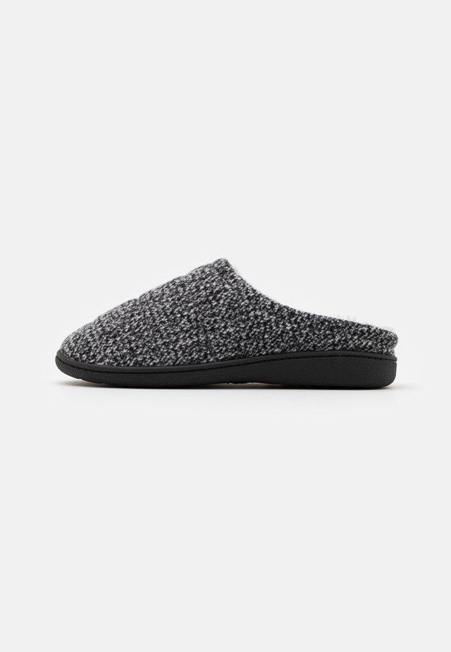 Pantuflas - black/grey