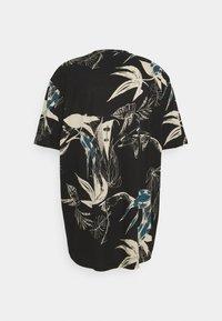 Jack & Jones - JORMONET TEE CREW NECK - Print T-shirt - black - 1