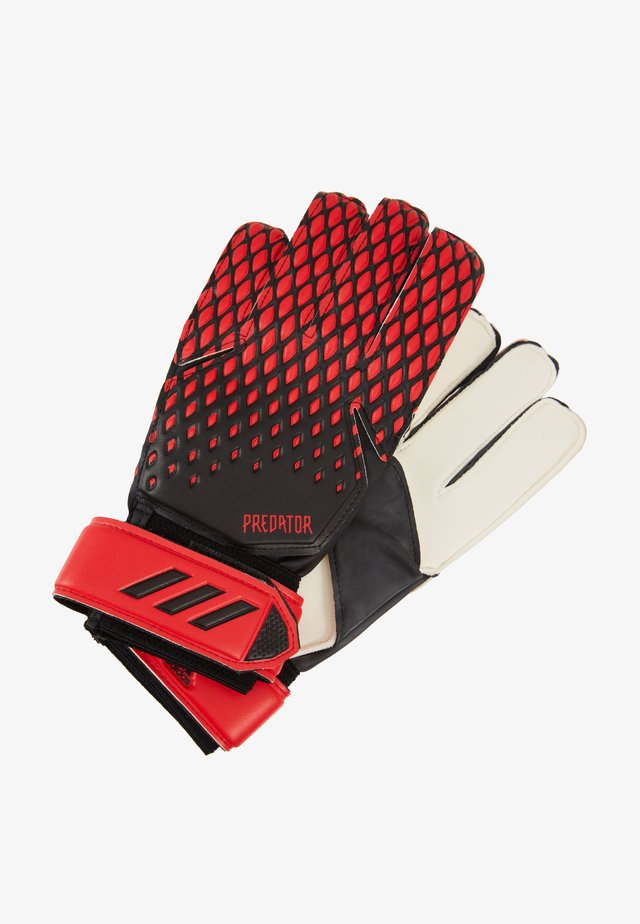 Gants de gardien de but - black/actred