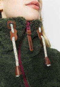Icepeak - COLONY - Fleece jacket - dark olive - 6