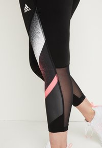adidas Performance - Leggings - black/white - 6