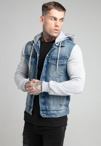 JACKET - Džínová bunda - blue denim