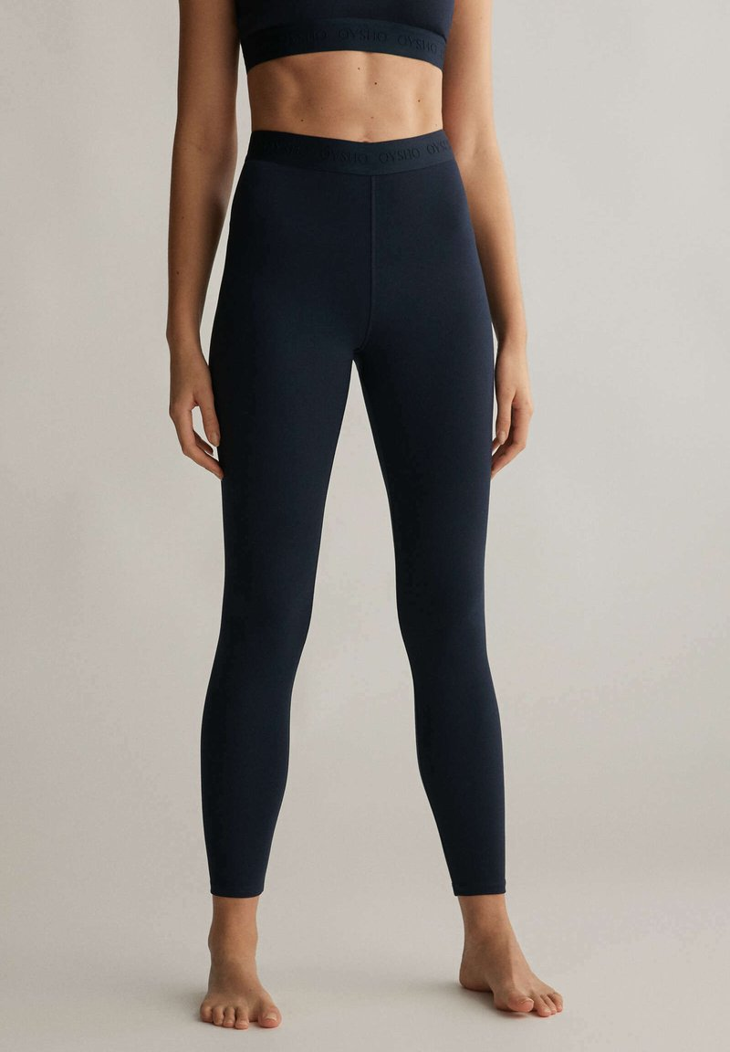 OYSHO - Leggings - dark blue