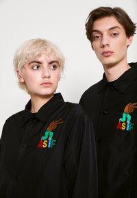 AS IF Clothing - CODA JACKET UNISEX - Light jacket - black - 4