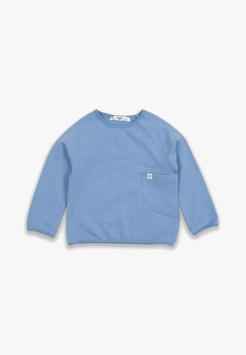 Cigit - POCKET - Sweatshirt - blue
