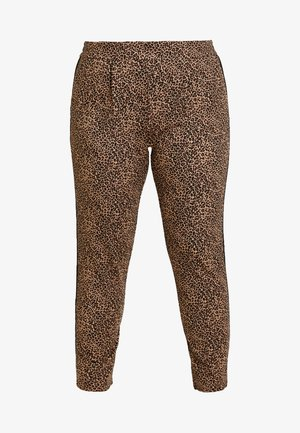 CARGOLDTRASH ANIMAL PANT - Tygbyxor - black