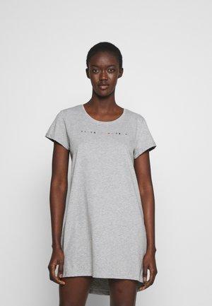 NIGHTIE NECK - Nattskjorte - light grey melange