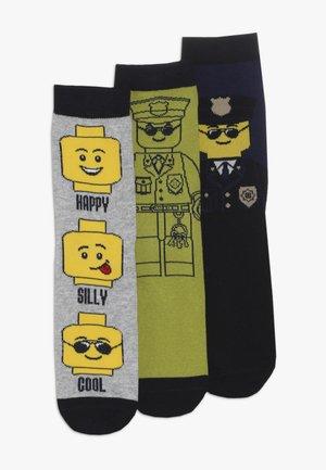 3 PACK - Socks - grey melange
