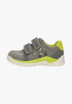 Sneaker low - grau/lime