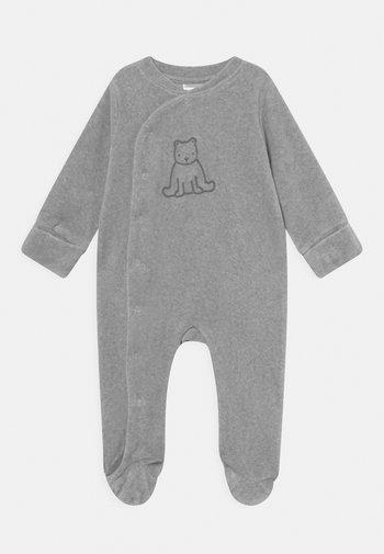 UNISEX - Sleep suit - stone grey melange