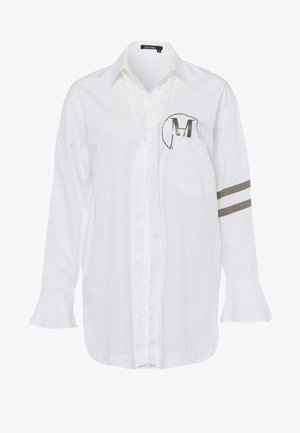 Button-down blouse - white varied