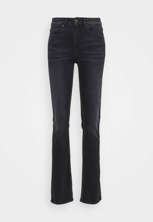 SUPER G STRAIGHT REUSED - Straight leg jeans - crow