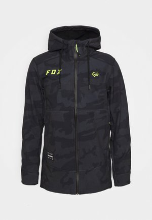 PIT JACKET - Softshelljacke - black cam