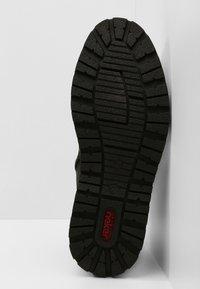 Rieker - Šněrovací kotníkové boty - schwarz - 4