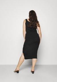 Missguided Plus - MIDI SKIRT - Pencil skirt - black - 2