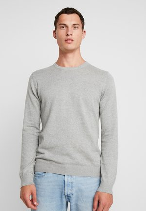CREW NECK - Jumper - grey